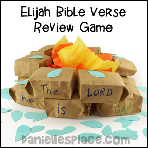 Bible Verse Review Game