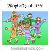 Prophets of Baal Coloring Sheet