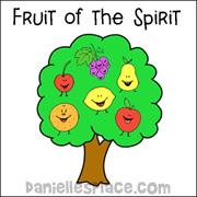 Fruit Of The Spirit Tree Memory Verse Chart