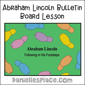 Lincoln Bulletin Board Picture from www.daniellesplace.com