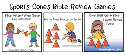 Bible Games Using Sports Cones