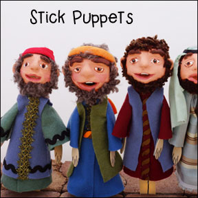 How to Make Stick Puppets from www.daniellesplace.com