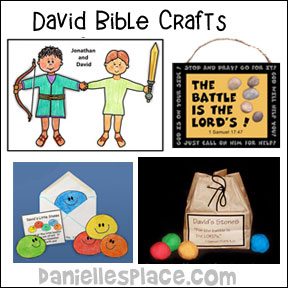 David Bible Crafts for Kids