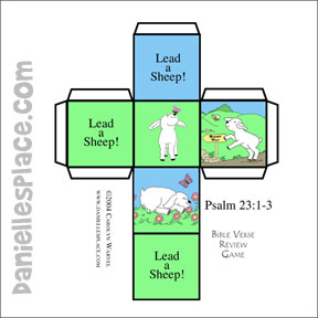 Psalm 23:1 - Sample lesson | 288x288