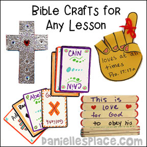 Anytime Crafts and Bible Games for Sunday School