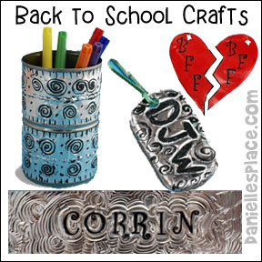 Back-to-school Crafts Page 3 - Crafts to help children get excited about going back to school