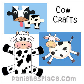 Cow Crafts And Learning Activities For Kids