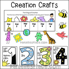 Creation Bible Crafts - The Complete Story