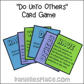 Do Unto Others Card Game for Children's Ministry