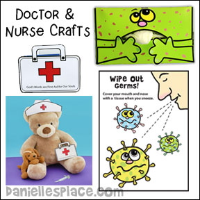 Fast and easy crafts for kids from danielle 39 s place for Doctor crafts for toddlers
