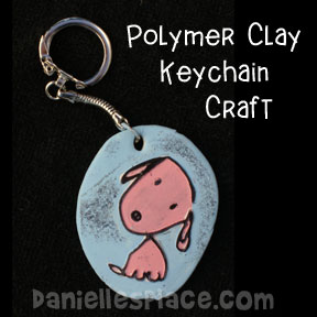 Dog Key Chain Craft