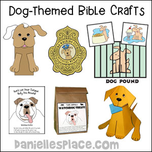 Dog-themed Bible Crafts