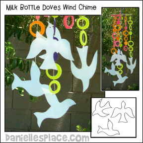 Dove Windchime craft