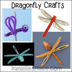 Dragonfly Crafts and educational activities for children