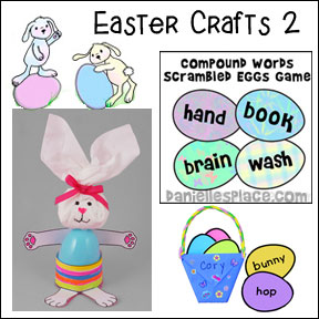 Easter Crafts for Kids Page 2
