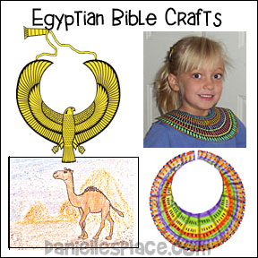Egyptian Bible Crafts for Children's Ministry