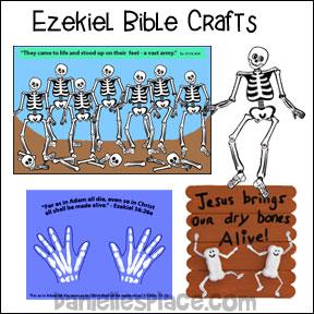 Ezekiel Sunday School Craft