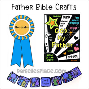 Cheap and Easy Bible Crafts for Children's Ministry from Danielle's