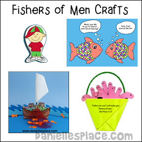 Fishers of Men Bible Crafts