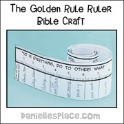 Golden Rule Ruler Craft