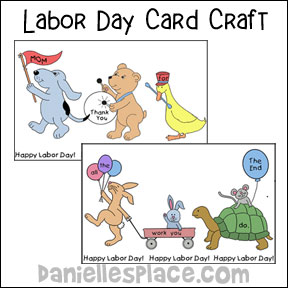 Labor Day Card Craft