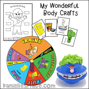 My Wonderful Body Crafts and Learning Activities for Children