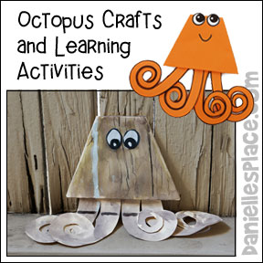 Octopus Art and Science Learning Activity