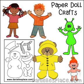 Paper Doll Crafts and Educational Activities