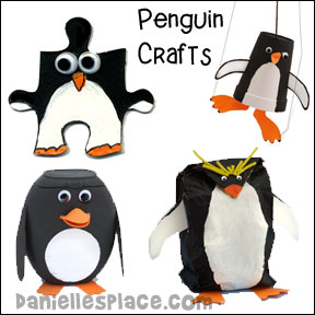 penguin crafts and educational actiivities
