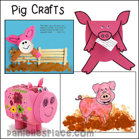 Pig Crafts and Educational Activities for Children