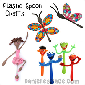 Plastic Spoon Crafts for Kids