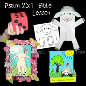 Psalm 23:1 Bible Lesson with Crafts and Games