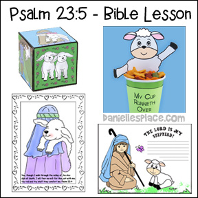 "Psalm 23:5 - ""I am Special"" Bible Lesson for Children"