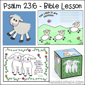 Pslam 23:6 Bible Lesson for Children