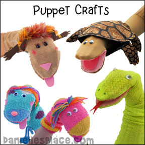 Puppet Crafts for Children's Ministry