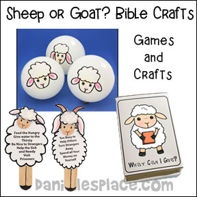 Sheep or Goat? Bible Lesson with Crafts and Games for Children's Ministry