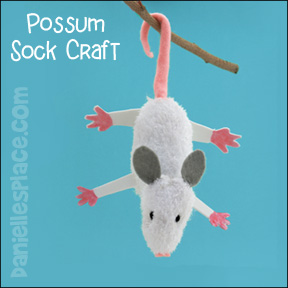 Possum Sock Craft