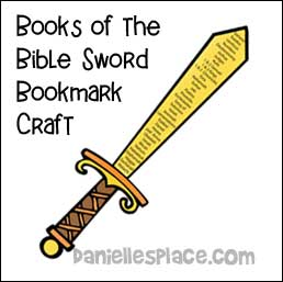 Books of the Bible Sword Craft