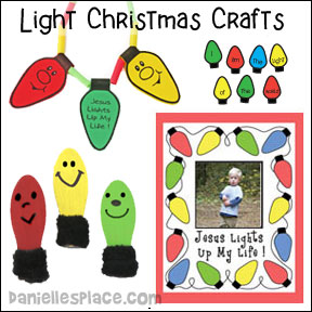Christmas Bible Crafts Lights