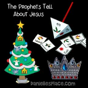 The Prophets Tell About Jesus - Christmas Tree Story Lesson