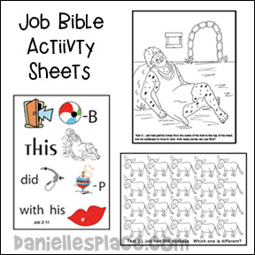 Job Bible Lessons, Crafts, and Games
