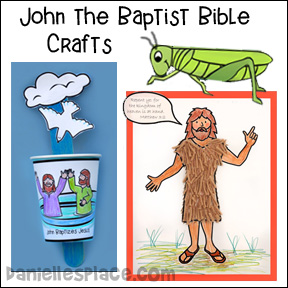 John the Baptist Bible Crafts and Activities