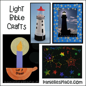 Light of the World Bible Crafts from www.daniellesplace.com