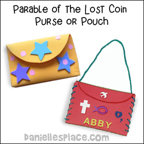 Parable Of The Lost Coin Purse Or Pouch