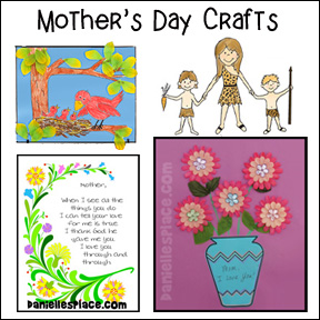 Mother's Day Crafts for Sunday School from www.daniellesplace.com