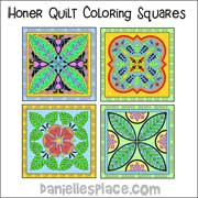 Honor Coloring Quilt