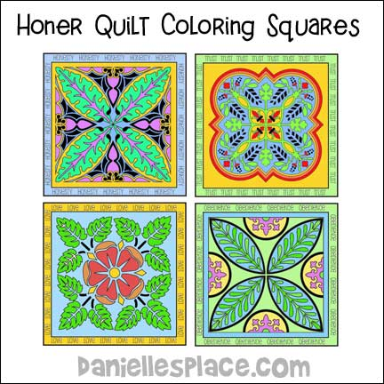Honor Quilt Craft includes five different patterns.