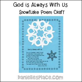 Snowflake Poem Craft