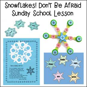 Snowflake Sunday School Lesson