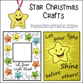 Star Christmas Crafts from www.daniellesplace.com